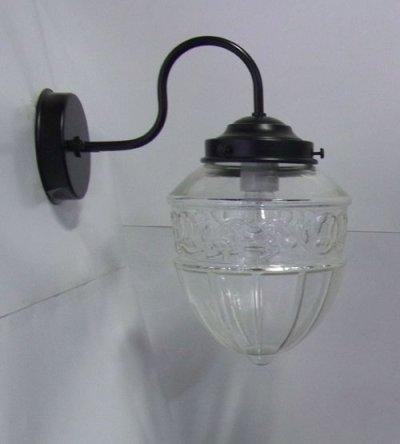 画像1: ブラケットライト レトロ1005 クリア