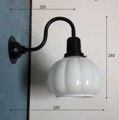 画像2: ブラケットライト かぼちゃ型 クリアK