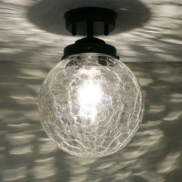 画像1: 丸型200直付型ライト ヒビクリア (1)