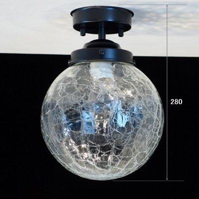 画像1: 丸型200直付型ライト ヒビクリア