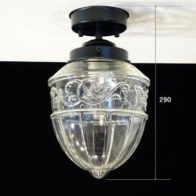 画像3: レトロ 1005 直付型ライト アンバー
