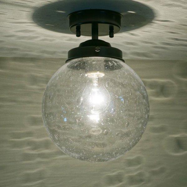 画像1: 丸型200直付型ライト 泡クリア (1)