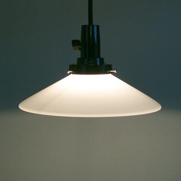 画像1: P1ペンダントライト乳白 (1)